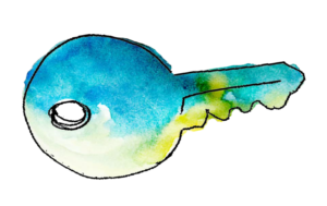 Key watercolor
